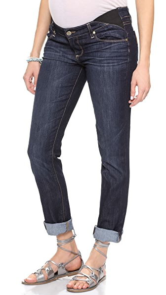 PAIGE Jimmy Jimmy Maternity Skinny Boyfriend Jeans at Shopbop
