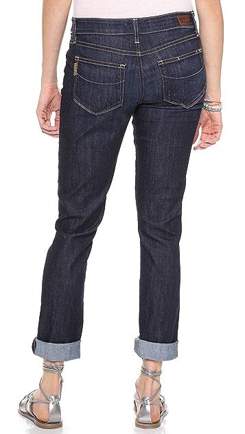 PAIGE Jimmy Jimmy Maternity Skinny Boyfriend Jeans