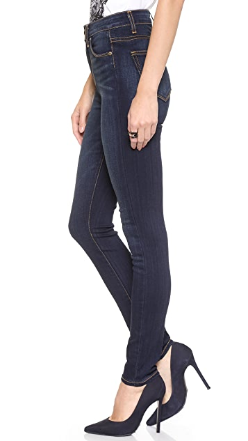 PAIGE Transcend Margot High Rise Ultra Skinny Jeans