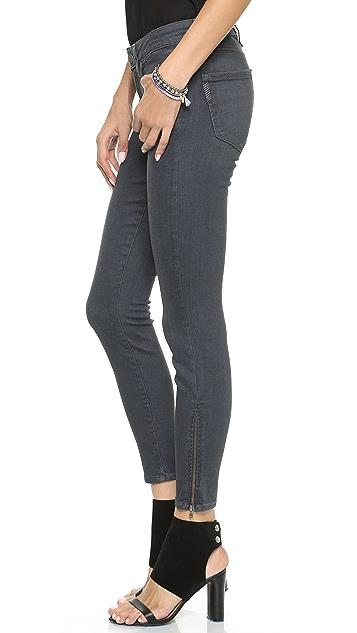 PAIGE Jane Zip Ultra Skinny Jeans