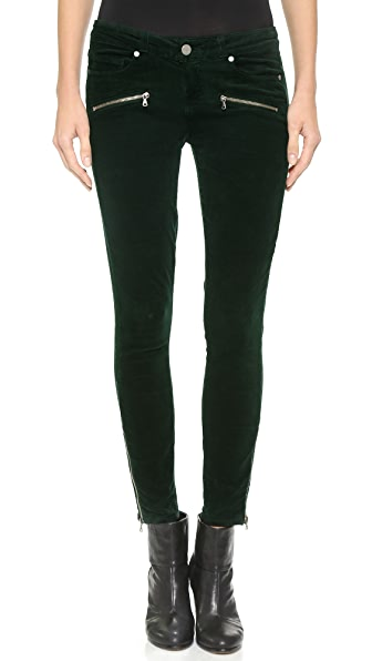 Paige Denim Jane Zip Skinny Corduroys