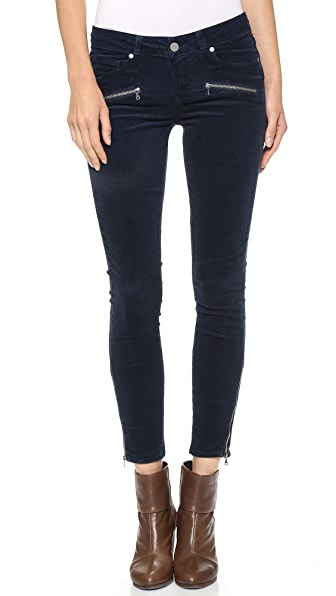 Paige Denim Jane Zip Ultra Skinny Corduroys