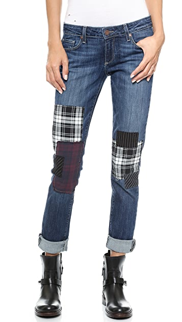 PAIGE Jimmy Jimmy Jeans with Patches