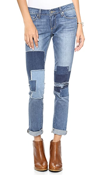Paige Denim Jimmy Jimmy Skinny Jeans with Patches