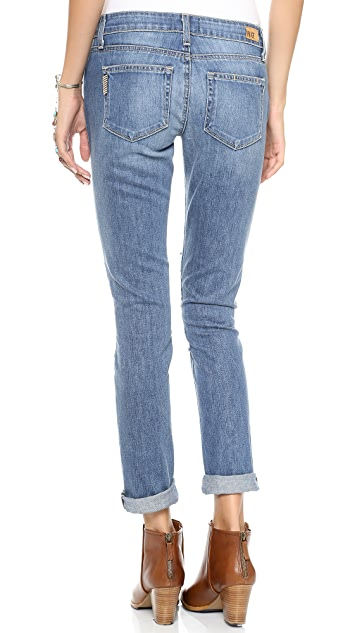 PAIGE Jimmy Jimmy Skinny Jeans with Patches