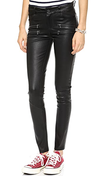 PAIGE Edgemont Leather Pants