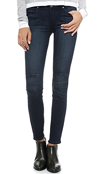 Paige Denim Ollie Moto Skinny Jeans