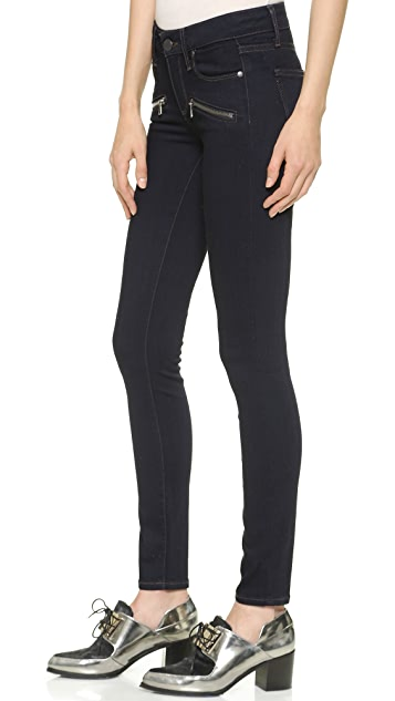 PAIGE Transcend Indio Zip Ultra Skinny Jeans