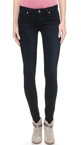 PAIGE Transcend Verdugo Ultra Skinny Jeans - Tonal Mona
