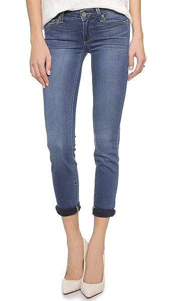 PAIGE Transcend Verdugo Ultra Skinny Ankle Jeans - Tristan
