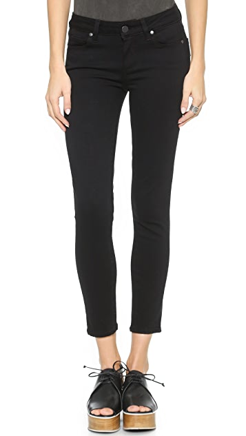 PAIGE Transcend Verdugo Skinny Cropped Jeans