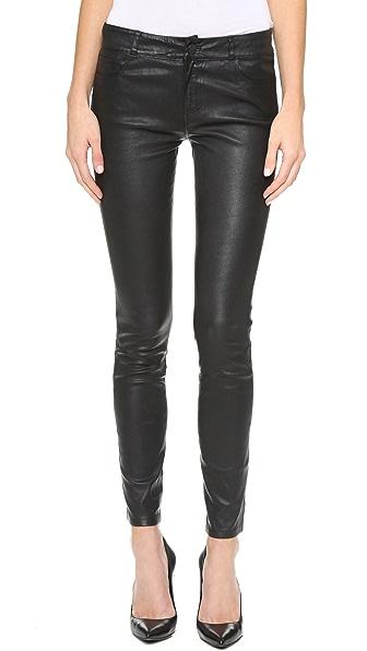 PAIGE Verdugo Leather Pants