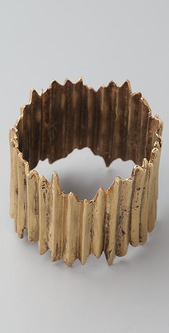 A Peace Treaty Biar Carved Cuff