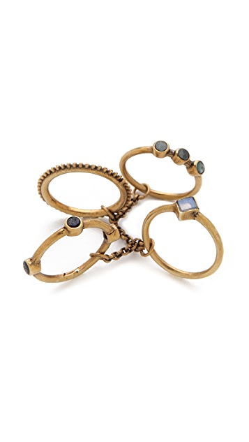 A Peace Treaty Sidra Ring Set