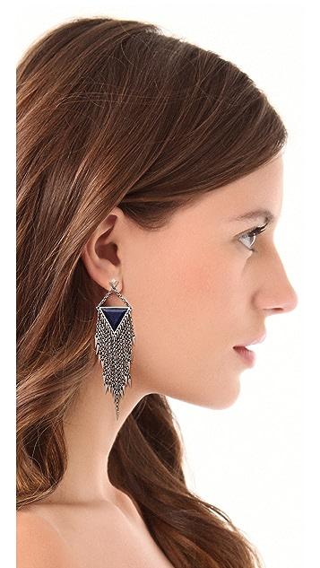 A Peace Treaty Laiyla Lapis Earrings