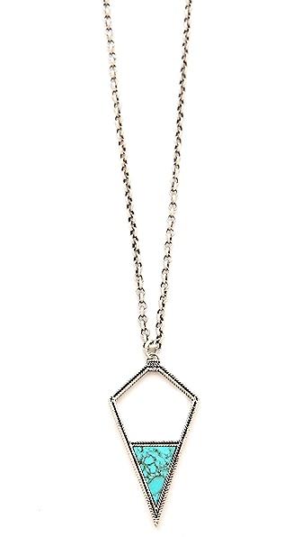 A Peace Treaty Dibeh Arrowhead Pendant Necklace