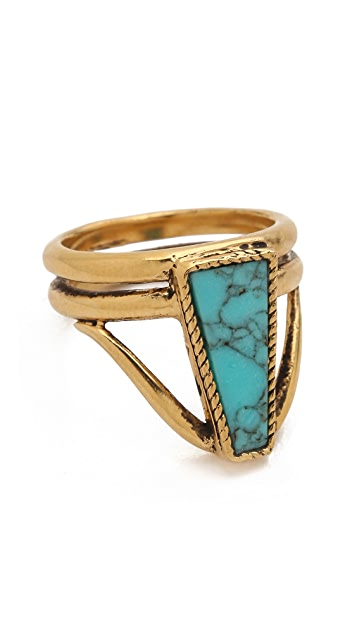 A Peace Treaty Ahtad Turquoise Ring