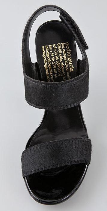 Pedro Garcia Joyce Haircalf Sandals