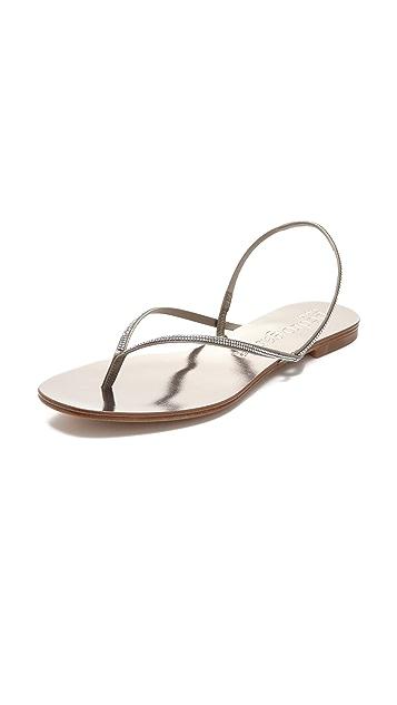 Pedro Garcia Elina Jewel Flat Sandals
