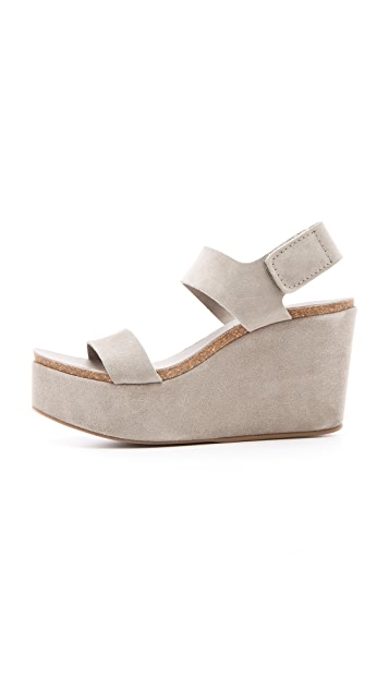 Pedro Garcia Dakota Wedge Sandals