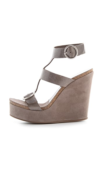 Pedro Garcia Adriel Wedge Sandals