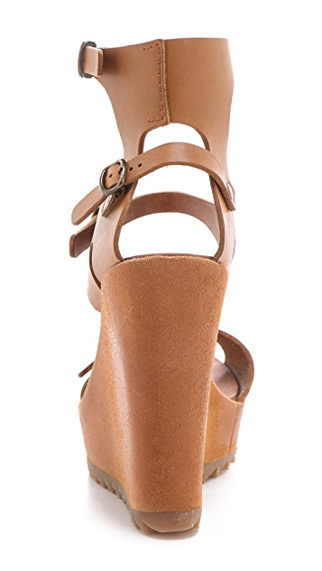 Pedro Garcia Valeria Buckle Sandals
