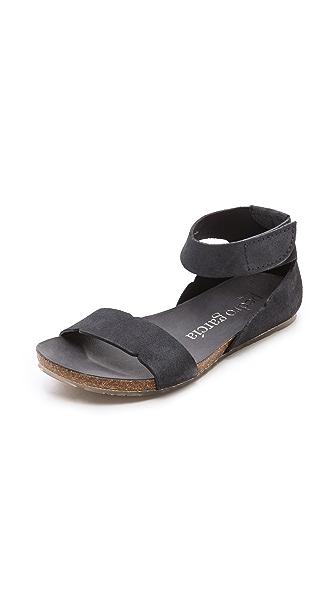 Pedro Garcia Jennifer Two Band Flat Sandals