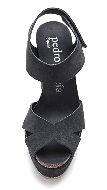 Pedro Garcia Martina Wedge Sandals