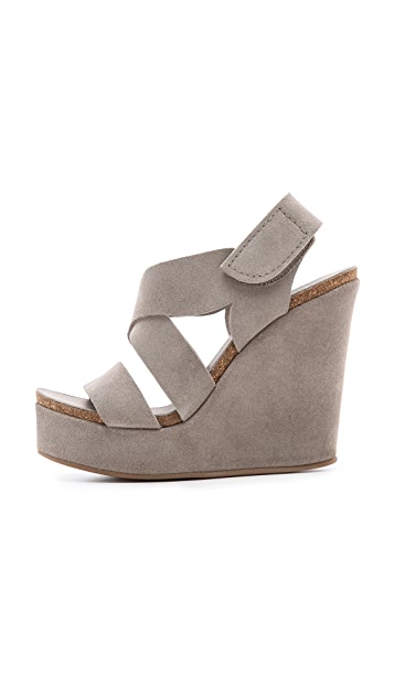 Pedro Garcia Trina Wedge Sandals