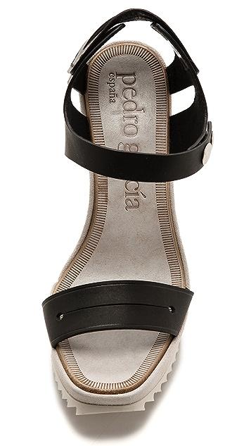Pedro Garcia Viviana Wedge Sandals
