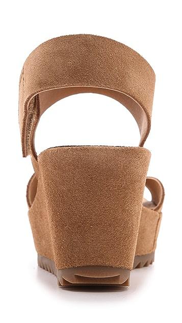 Pedro Garcia Filippa Low Wedge Sandals