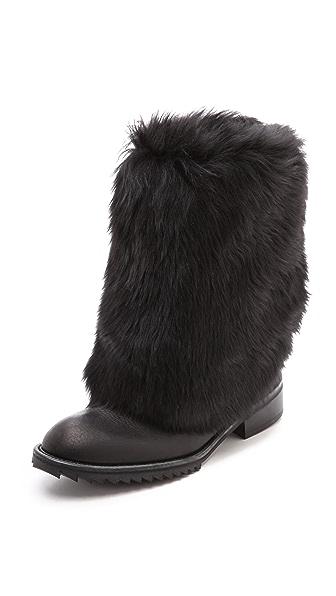 Pedro Garcia Odette Fur Lined Boots