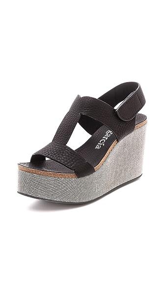 Pedro Garcia Delia Platform Wedge Sandals