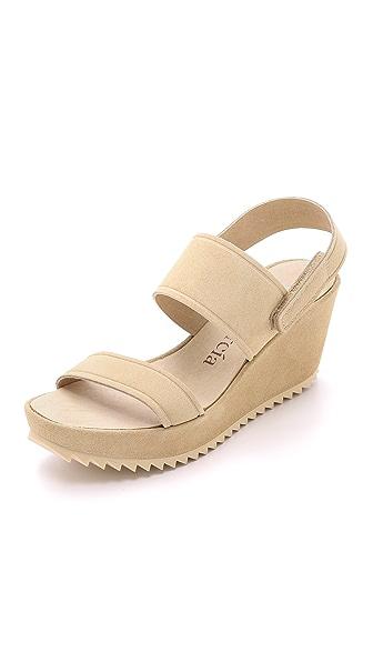 Kupi Pedro Garcia online i prodaja Pedro Garcia Francy Wedge Sandals Ecru haljinu online