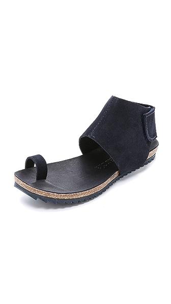 Pedro Garcia Vania Toe Ring Sandals - Bleu