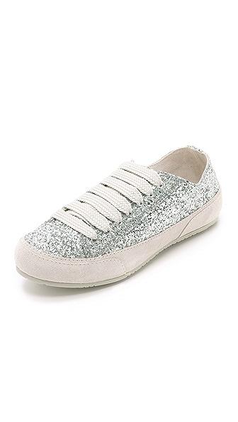 Pedro Garcia Parson Sneakers - Silver