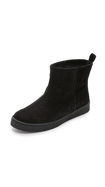 Pedro Garcia Palmer Sneaker Boots - Black