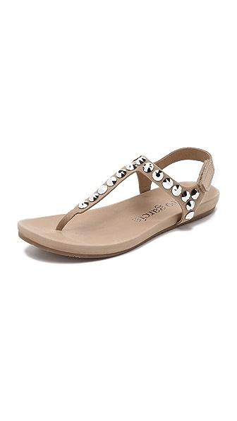 Pedro Garcia Judith Embellished Sandals - Sirocco