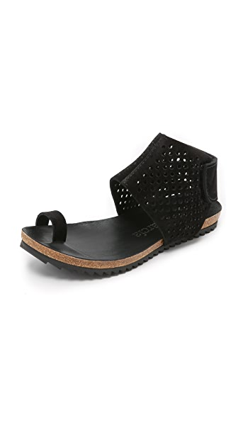 Pedro Garcia Venus Sandals - Black