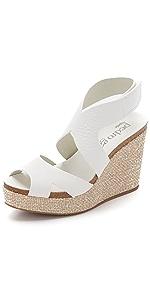 Marcia Platform Wedge Sandals                Pedro Garcia