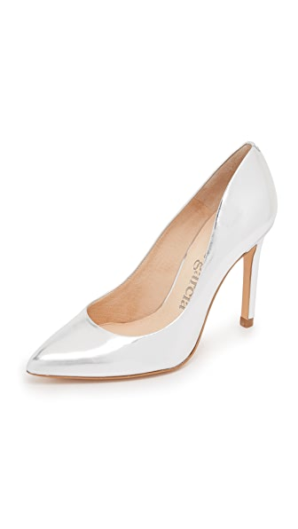 Pedro Garcia Aneley Pumps - Silver