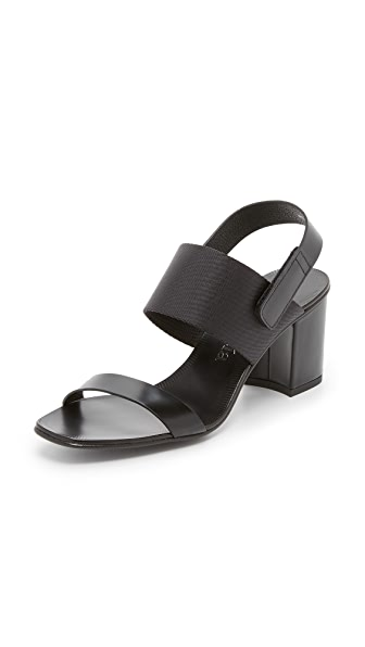 Pedro Garcia Xuyay City Sandals - Black