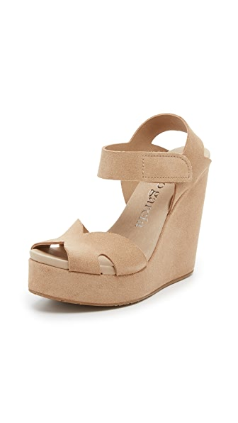 Pedro Garcia Tandy Wedge Sandals - Sirocco