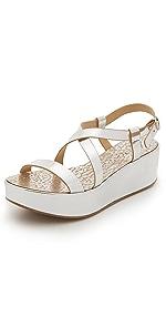 Nessa Flatform Sandals                Pedro Garcia