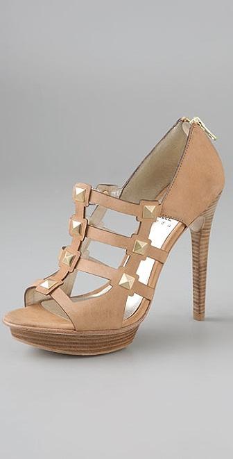 Pelle Moda Finet Stud Caged Heels