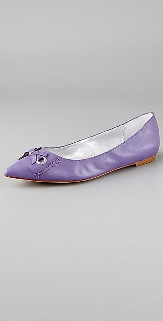 Pelle Moda Laney Pointed Toe Flats