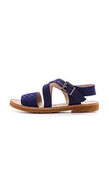 Penelope Chilvers Cresta Snake Sandals