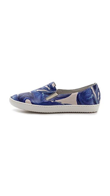 Penelope Chilvers Ramone Printed Slip On Sneakers