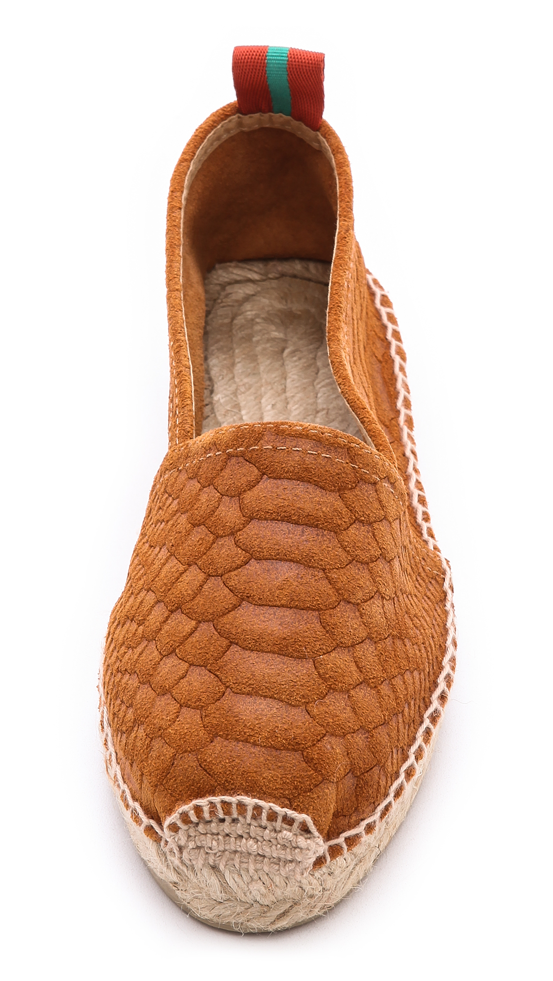 Penelope Chilvers Espadrilles Penelope Chilvers Sueded Snake