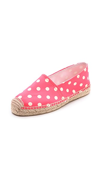 Penelope Chilvers Polka Dot Espadrille Flats